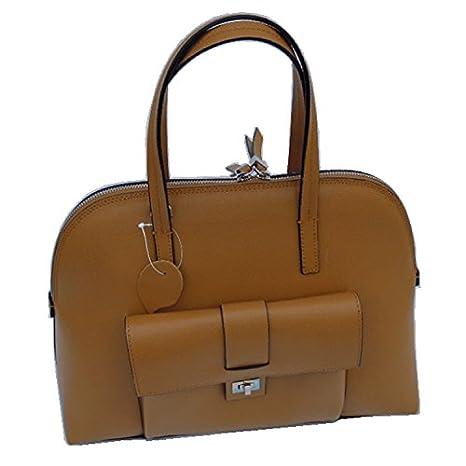 Solent Bosham itatlian piel bolso cambiador marrón: Amazon ...