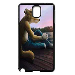 Samsung Galaxy Note 3 Cases Fox People, Samsung Galaxy Note3 Cases for Women - [Black] Okaycosama