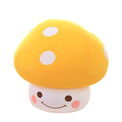 misslight Multi-Style Soft Mushroom Plush Pillow Stuffed Toy for Kids/Couples/Elder: Toys & Games