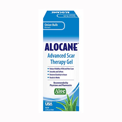 Alocane® Advanced Scar Prevention Therapy Gel, Silicone for Scars, Stretch Marks, Surgeries, Reduces Appearance of Old & New Scars, Scar Treatments for Cuts and Burns, Made in The USA, 2.5 Fl Oz - Lidocaine Burn Relief