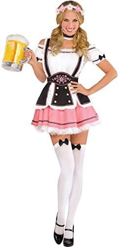 amscan- Adults Costume Size 10-12-1 Pc Disfraz de Oktobermiss para ...