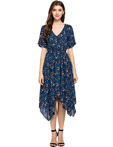 Meaneor Womens Floral Print Casual product image