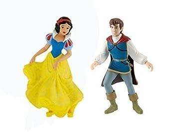 Bullyland Figurine De Gâteau Blanche Neige Et Le Prince