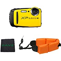 Fujifilm FinePix XP120 Waterproof Digital Camera International Model (Yellow)