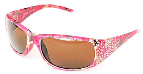 efc372e2cb2 Galleon - VertX Women s Hot Pink Camouflage Sunglasses Designer Fashion  Eyewear Hunting Fishing Outdoor – Hot Pink Camo Frame – Amber Lens