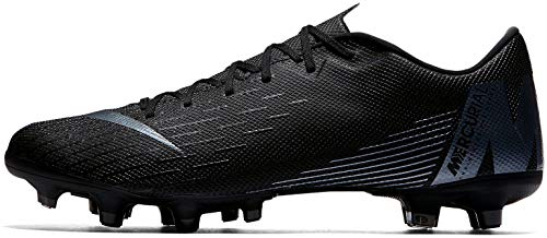 (Nike Mercurial Vapor 12 Academy MG Soccer Cleat (Black) (Men's 10.5/Women's)
