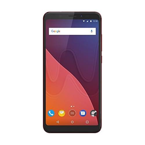 chollos oferta descuentos barato Wiko View Smartphone De Pantalla Panorámica 5 7 Dual Sim 3 GB Ram 16 GB De ROM Procesador Qualcomm Cámaras De 16 Y 13 MP Android 7 1 Rojo