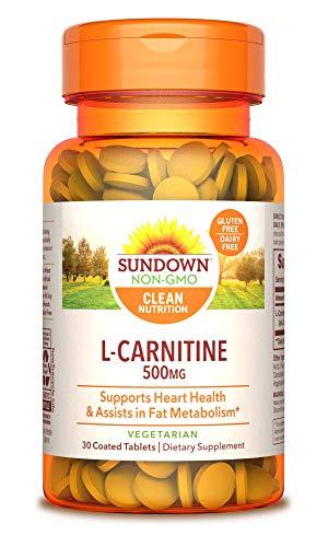Sundown L-Carnitine 500 mg, 30 Tablets
