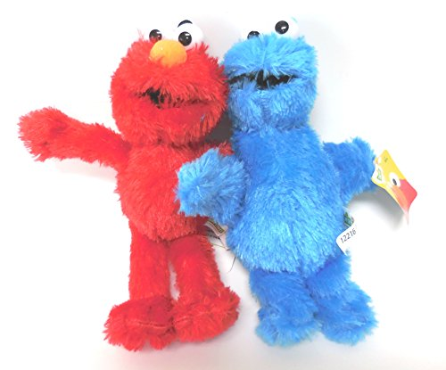 Elmo Cookie Monster Plush Doll product image