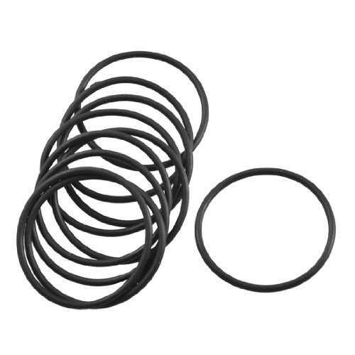 DealMux 10 Pcs Black Rubber Oil Filter Seal O Ring Gasket 28mm x 25mm x 1.5mm DLM-B00ARASNL6