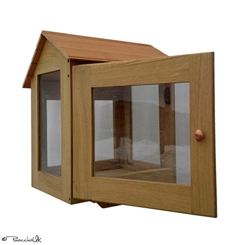 Oak little free library. Outdoor. Fully assembled. 25