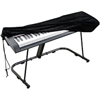 Piano Keyboard Cover, Stretchable Velvet Dust Cover with...