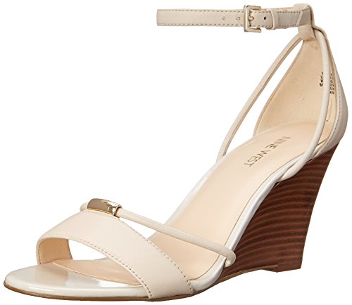 Women's  Wedge Pump - Nine West Fastness Leather