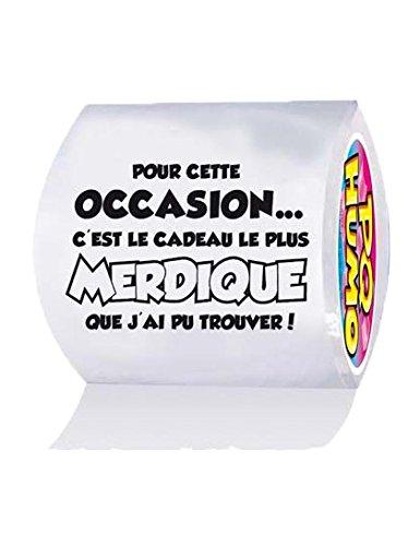 Papier Toilette Humoristique Cadeau Merdique: Amazon.Fr: Cuisine