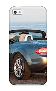Iphone 5c Case Cover - Slim Fit Tpu Protector Shock Absorbent Case (mazda Miata 24)