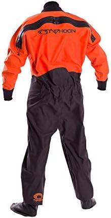 Orange Typhoon Rookie Childrens Drysuit 2019