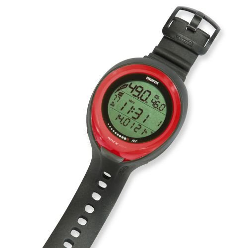 Mares Puck Pro Wrist Dive Computer - Red