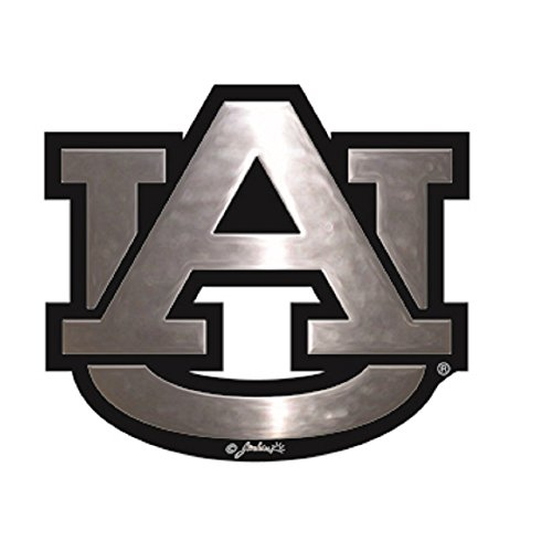 Auburn Tigers Silver Tone Auto Emblem ()