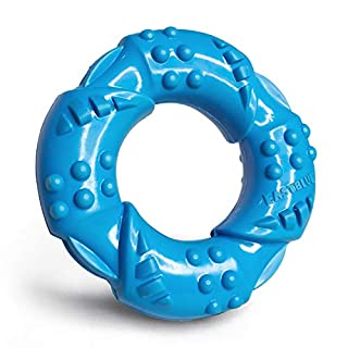 EASTBLUE Dog Chew Toy for Aggressive Chewers: Ultra-Tough Natural Rubber Puppy Chew Toy Nearly Indestructible for Medium and Large Breed