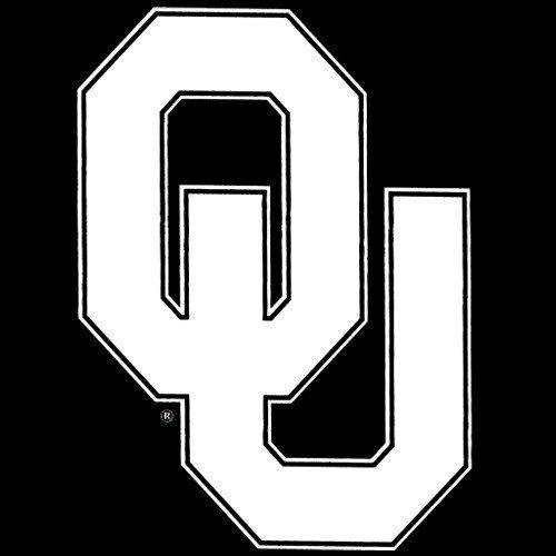 WinCraft Oklahoma Sooners 8x8 White Team Logo Decal 8x8 8x8