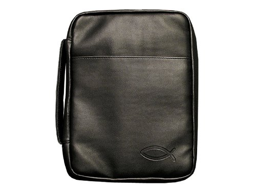 Imitation Leather Fish Bible Cover - - Cover Pastors