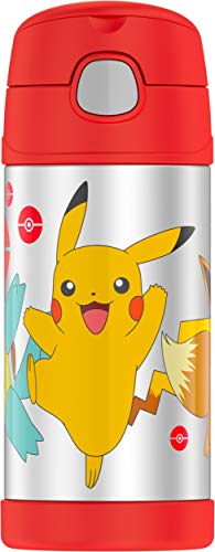 Thermos F4019PM6 Funtainer 12 Ounce Bottle, Pokemon]()