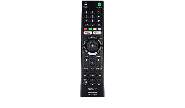 Mando Original de TV Reemplazo para Sony KDL-32WE610/KDL32WE610: Amazon.es: Electrónica
