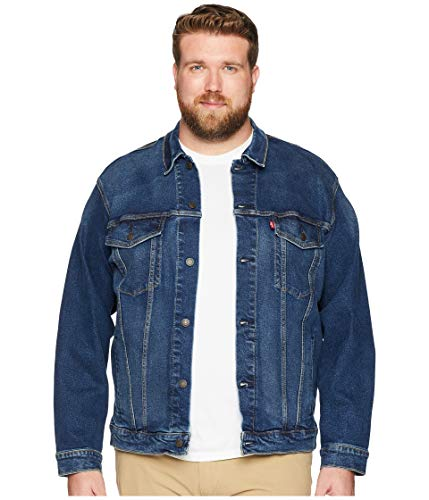 Levi's Men's Big and Tall Trucker Jacket, Colusa/Stretch, 3XL by Levi's