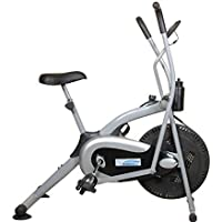 Aerofit Air Bike with LCD Display Computerized Console HF974