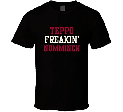 Teppo Freakin Numminen Arizona Hockey Player Sports Fan T Shirt