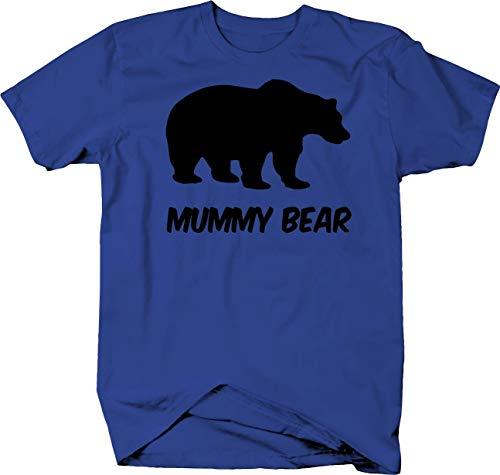 Mummy Bear Protective Mom Polar Grizzly Bear Color Tshirt - -