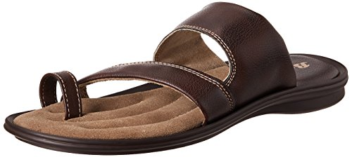 Bata Men's Leather Hawaii Thong Sandals