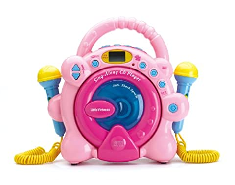 Sing Along CD Player Hot Pink Special Limited Edition - Sing Along Microphone