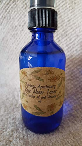 Setting spray Toner Rosewater by Springs Apothecary
