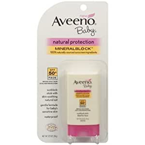 Aveeno Baby Natural Protection Sunblock Stick SPF 50+ (0.5 oz.)