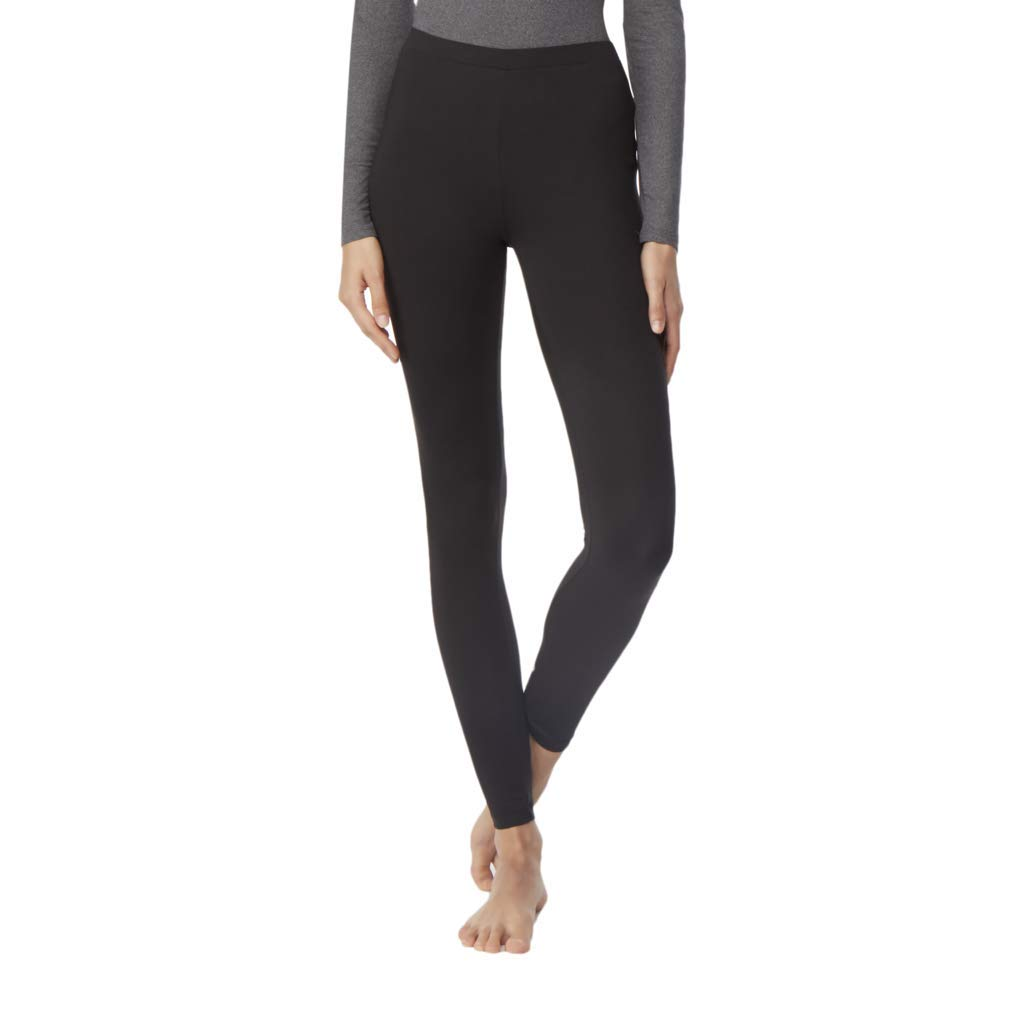 32 Degrees Heat Weatherproof Womens Base Layer Thermal Leggings Black, Small by 32 DEGREES