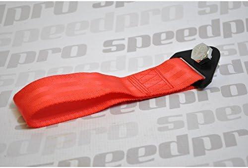 Crochet de remorquage Abschleppöse avec renouvellement Universel Sport de Course Rouge