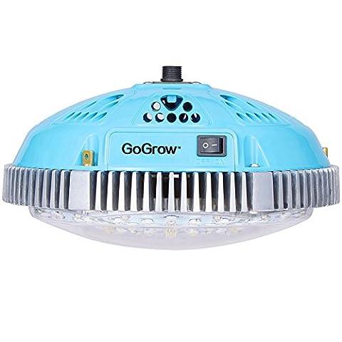 GoGrow Substitute HPS 400W 4 Feet 8x54W T5 LED Grow Light, Full Spectrum (Spectrum 400w Hps Bulb)