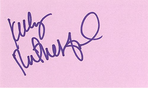 Kelly Rutherford, Threat Matrix, Gossip Girl, Melrose Place, (Rutherford Autograph)