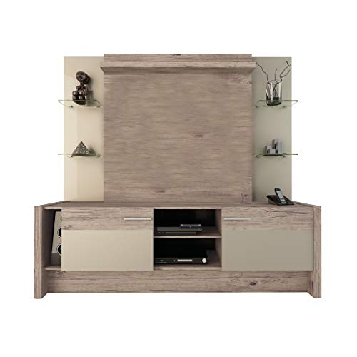 Manhattan Comfort Morning Side Entertainment Center, Nature and Nude ()