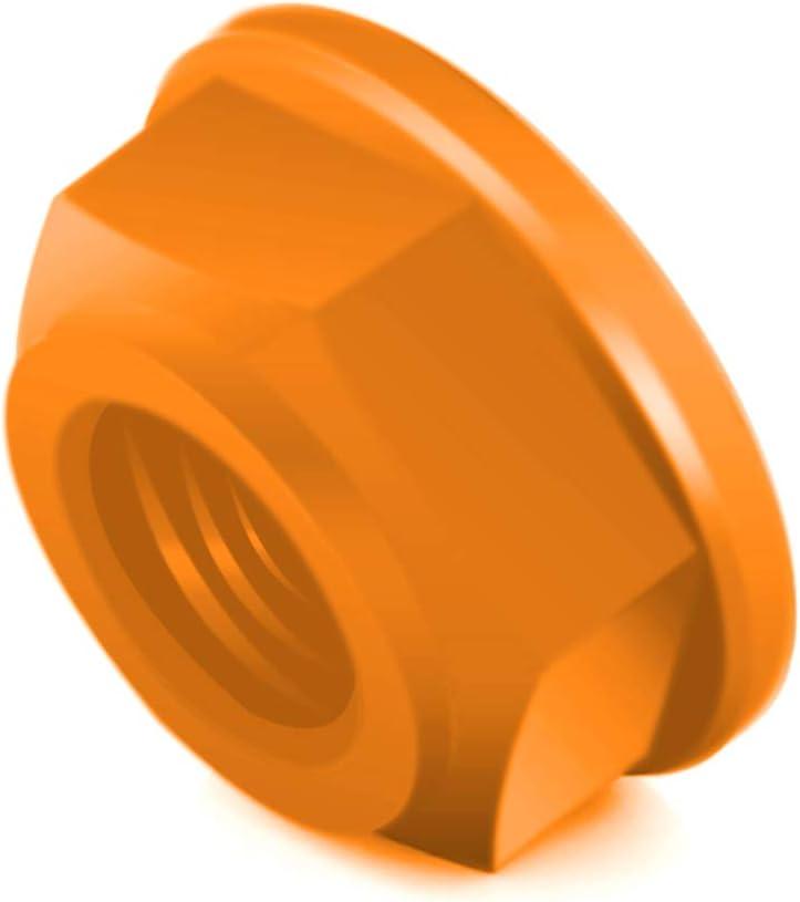 SUZUKI GSXR 600//750 Orange Xitomer 6PCS 7075-T6 Aluminum Alloy M10x1.25 Rear Sprocket Nuts For HONDA CBR1000RR F4 F4i KAWASAKI Z650 Z900 Ninja 250R//10R YAMAHA YZF R3// R6 FZ07 MT07 FZ09 MT09