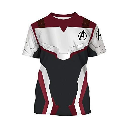 Tsyllyp Kids Superhero Avenger's Endgame T-Shirts Quantum Realm Cosplay Costume