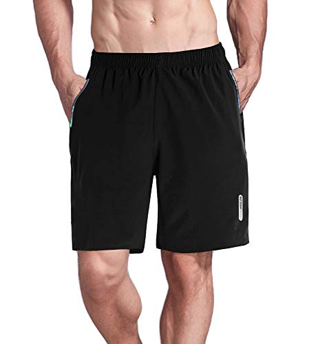 Quick Drying with Zipper Pockets Hiking Camping Mountainning Shorts for Men ()