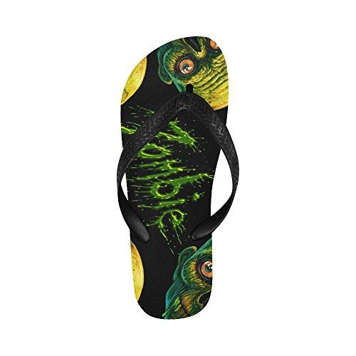 D-etasjers Zombie Flip Flops Strand Sandaler For Menn / Kvinner