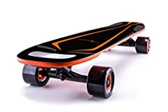 Size spec : L34.6*W8.67*H5.12 Inches/ L88*W22*H13CM. Loading Weight:0-120KG, for Ladies & MenSpeed : 22 MPH Top Speed , 4 Levels SpeedBoard Weight: Only 15 lbs light & portable  2 Starting Way: Sliding or Button PressingMaterial: 9 PL...