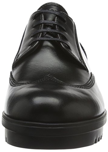 Marc O'Polo Schnürschuh Zapatos Derby De Cordones, Mujer, Negro (Black 990), 40