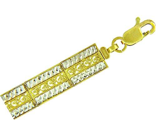 Petits Merveilles D'amour - 10 ct Deux Ton Or Bracelet