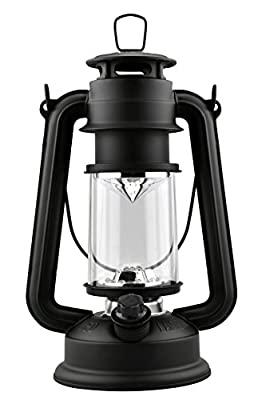 SE FL805-15BL 15-LED Hurricane Lantern with Dimmer Switch