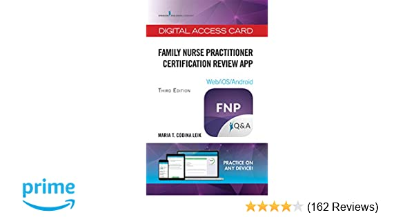 Family Nurse Practitioner Certification Review App - Digital Access
