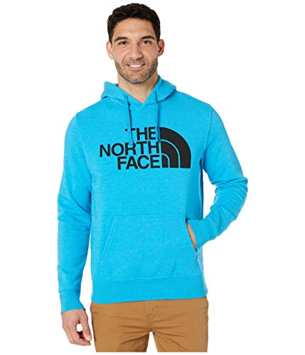 The North Face Men's Half Dome Pullover Hoodie, Acoustic Blue Heather, L